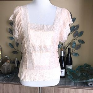 Free People Lace Top 1325